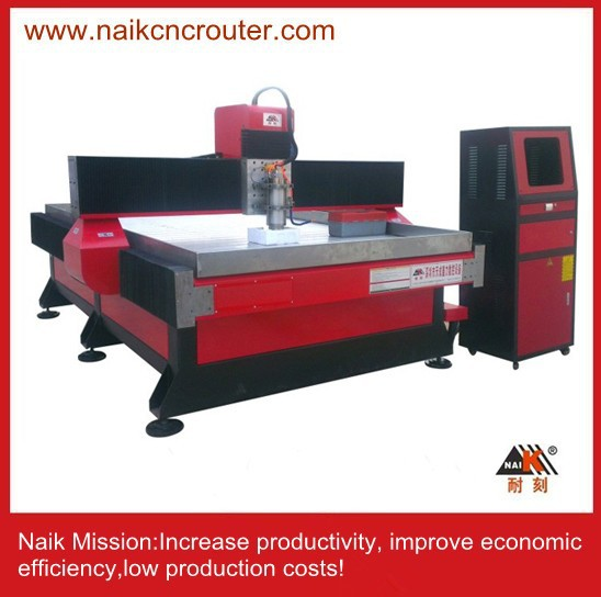 Vertical horizontal stone cutting machine