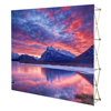 fabric display stand folding wall