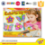 DIY painting plaster toy fridge magnet sticker originality refrigerator magnet