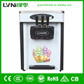 three flavor table top commercial ice cream machine for sale