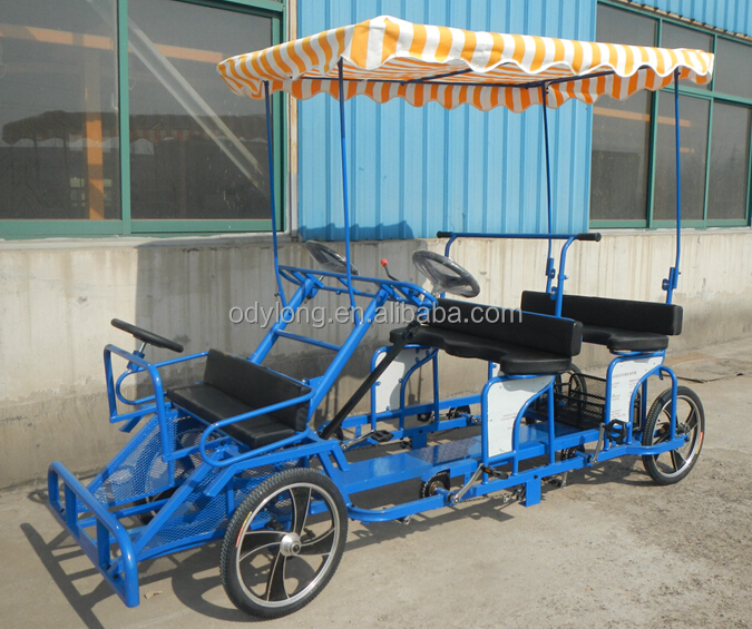 four wheel surrey bike quadricycle F6160