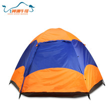 3-4 People Waterproof Family Large Camping Tent Double Layer Outdoor Shelter