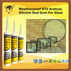 Weatherproof RTV Acetoxy Silicone Gum Sealant For Glass