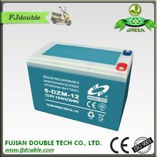 6-DZM-12 electric bike battery in frame with lead acid battery regeneration