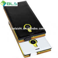 Unique design leather cell phone protective case for nokia lumia 1520