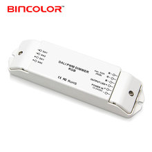 BC-343 DC 12V wireless RGB dali dimmer switch 24V 3 channels dali led driver