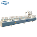 PVC Panel, MDF, PVC Profile PUR hot glue woodworking wrapping machine