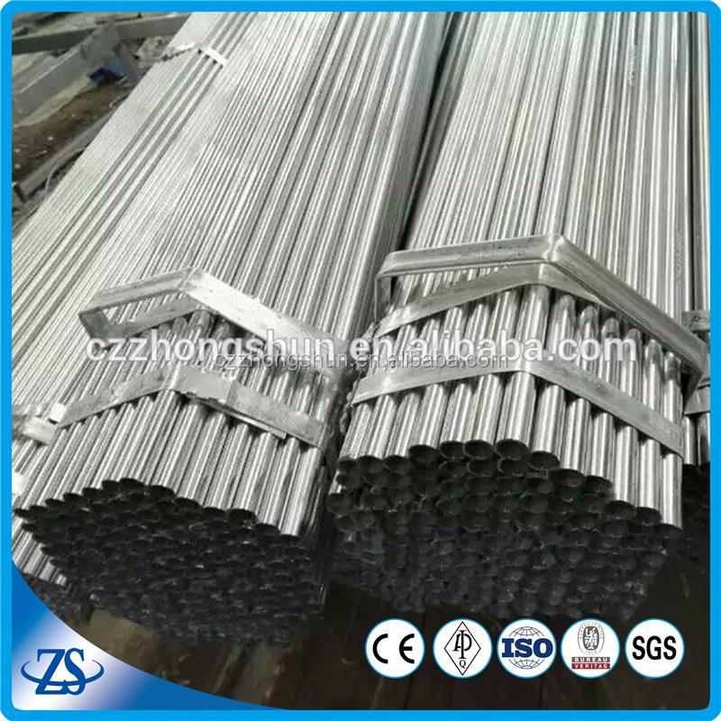 scaffolding pipe and scaffolding tube for conveyor machine