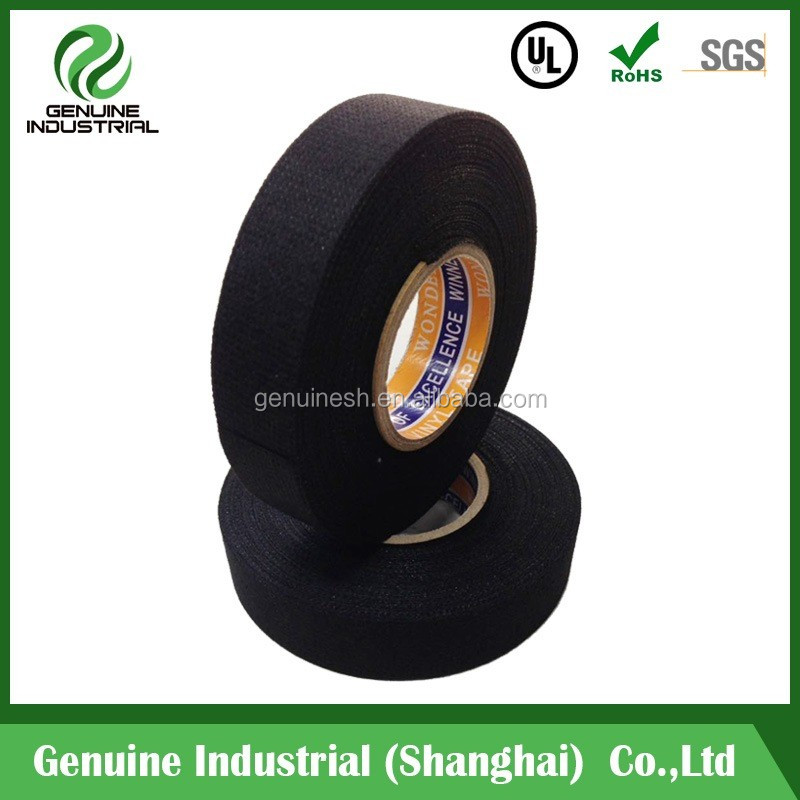 cable wire harness cloth tape/Cotton Fabric Isolation Cable Wrapping Cloth Wire Harness Tape