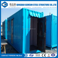 Container Material and Plant, Warehouse, Guard House, Office, Workshop Use Container House