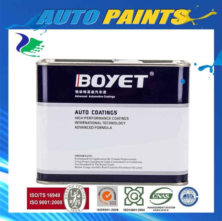 Auto Paint Clear Coat Hardener Experienced Supplier