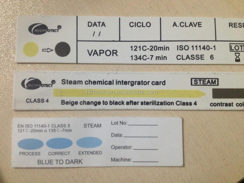High Quality Medical Product Sterilization Indicator Card