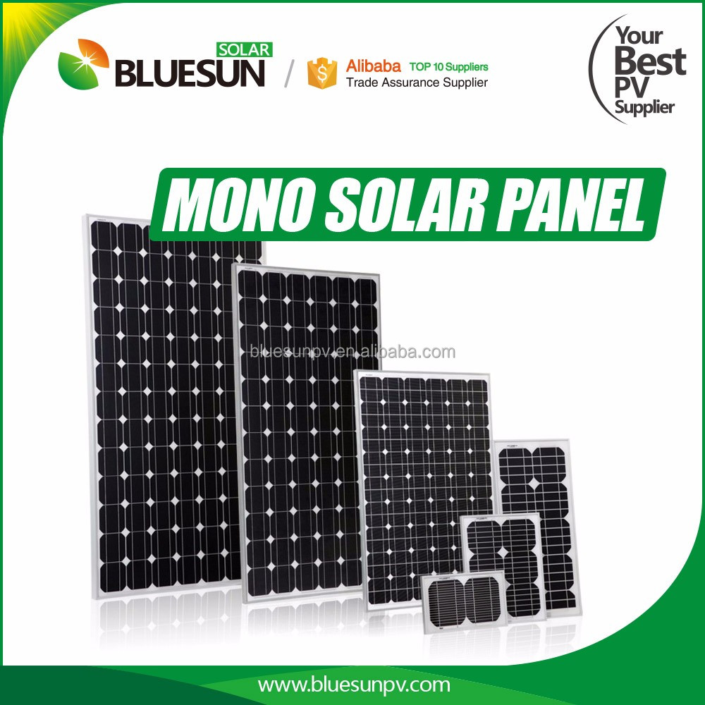 Best price Mono 30ma mini solar panel in Bluesun solar for home use