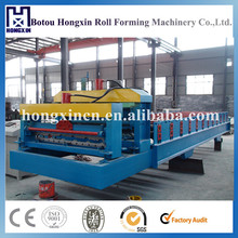 HX950 Glazed Color Tile Forming Machine Steel Profile Making Machine Sheet Metal Roller , Machinery for Panel