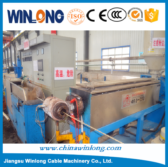 Power cable sheath manufacturing equipment/ PVC wire cable making extrusion machine