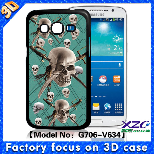 Luxury Brushed waterproof case for samsung galaxy core prime,Plastic Frame Mobile Phone Cases aluminum case for lenovo a6000