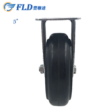 4inch/5inch Molded Rubber Caster /swivel cater wheels for alibaba wholesale