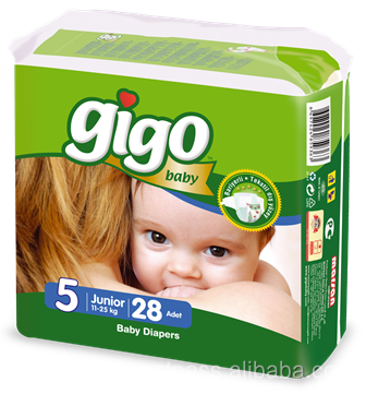 Gigo Baby Diaper Junior Size High Quality