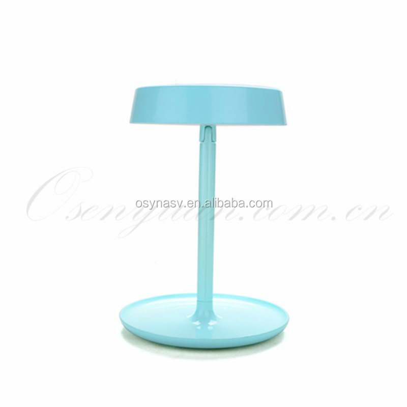 360 Degree Rotating LED Cosmetic Mirror make-up Lamp Light LED lighted Mirror Desktop Mirror