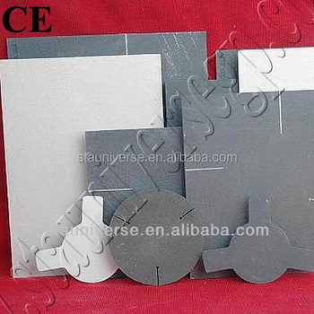 CE Certificated Refractory Silicon Carbide Plate with High Strength