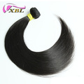 xblhair good review top suppliers brazilian silky straight remy human hair weft