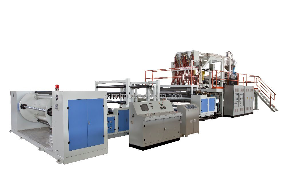 High-speed CPE CPP Casting Film Line