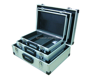 Aluminum impactful hand tool case portable carry series of boxes made in China Guangdong Foshan