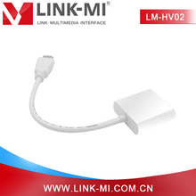 LINK-MI LM-HV02 Plug And Play HDMI to VGA Display Adapter No need extra power supply