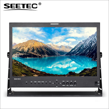 "SEETEC 21.5"" IPS Panel Full HD 1920x1080 3G-SDI HDMI broadcast lcd monitor for TV news production"