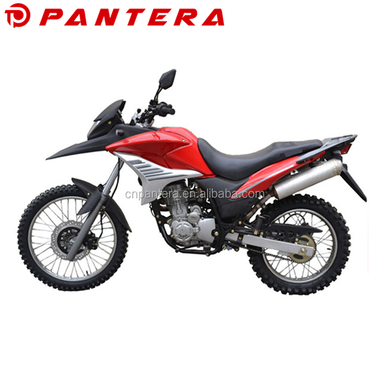 Super Power Gasoline Adult Fast Off Road Nice Design 250cc Motorcycle