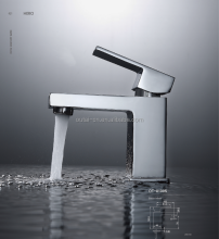 Low Lead Brass Bathroom Hand Wash Basin Mixer Faucet