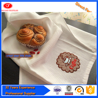 China supplier Embroidery 100% cotton kitchen towel Wholesale