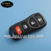 Topbest 3+1 buttons nissan key fob for nissan tiida remote key, 315mhz