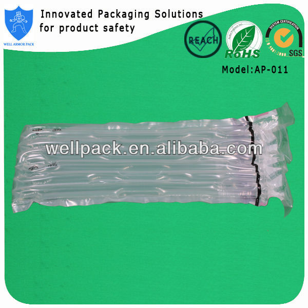 Quality customizable composite packaging materials for toner cartridge packaging air column bag