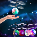 2017 Best Kids Toy Hand Sensor Led Flying Ball Helicopter Toys Magic Flying Ball LED