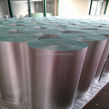 Aluminum foil XPE foam refleting barrier insulation under metal roof