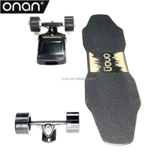 Dual hub motor electric longboard mellow the electric drive fits any skateboard