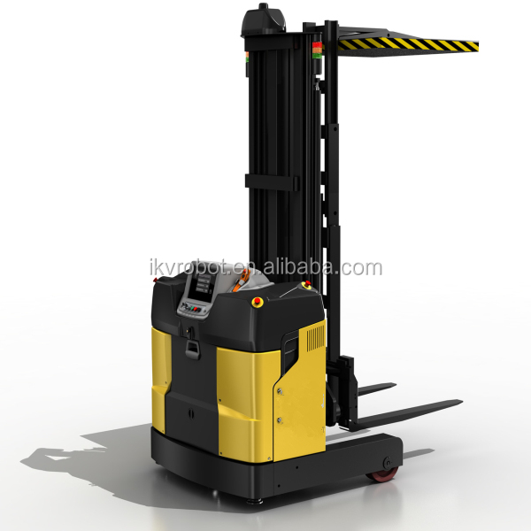 Automated Forklift Laser Guided Vehicle for Paper Industry