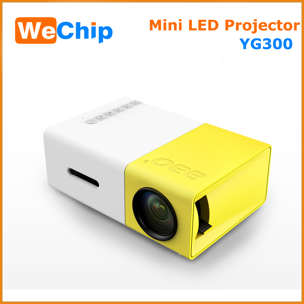 Yg300 Lcd Projector 600lm Home Media Player Mini Projector For Video Games Tv Home Theatre Movie Support Hdmi Sd Home Midea Play