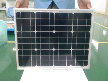 30W Mono crystalline Solar Panel with 12V,Positive tolerance and CE Certificated