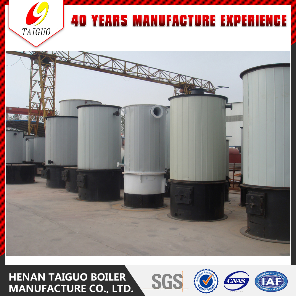 thermal conduction oil furnace with boiler heat medium oil system