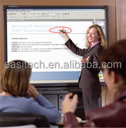Factory supply interactive whiteboard, portable smart board with Free updated whiteboard software