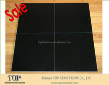 Polished Absolute Black Marble Floor tile