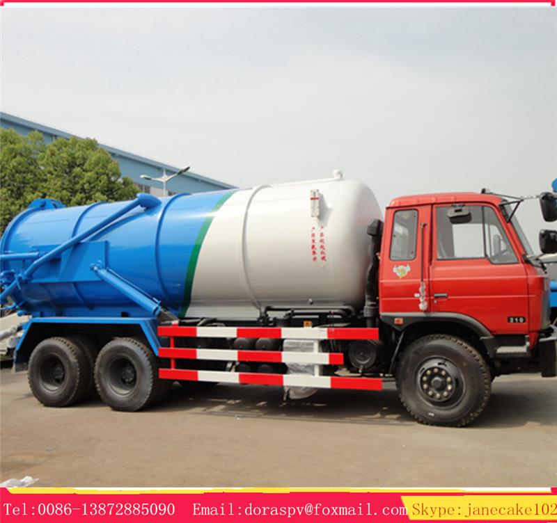 High quality low price 12000l sewage suction truck