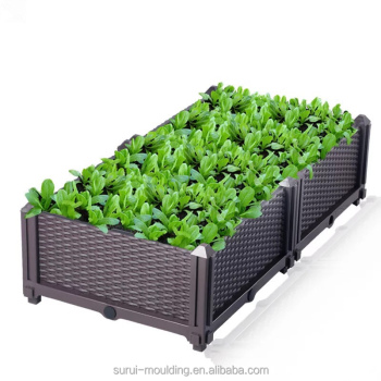 DIY creative plastic plant box for vegetables and flowers