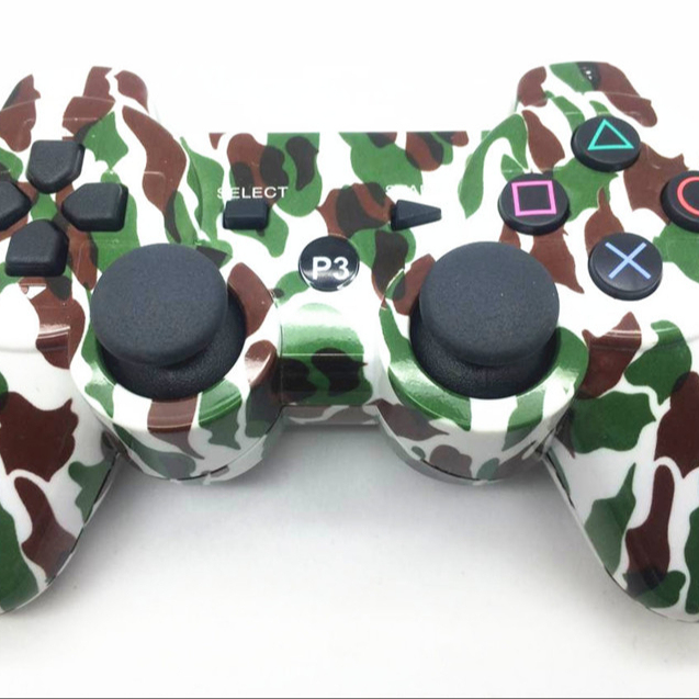 Wireless Game Controller Gamepad for PS3 camouflage MK2352