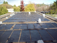 Australia design rigid polypropylene replace of epdm solar pool heating collector