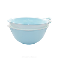 Taizhou Hengming pp wholesale kitchen using separable plastic rice colander