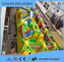 Forest infltable playground ,giant inflatable amusement park for kids, inflatable fun city