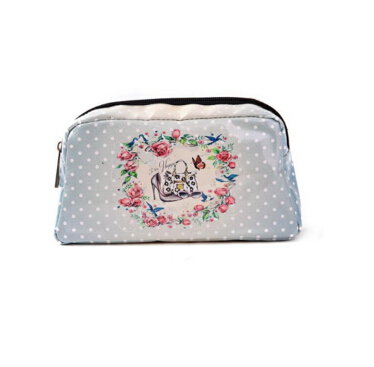 classic leopard cosmetic bag encai wholesale modern travel cosmetic bag with mirror/ hanging toiletry bag/ makeup